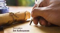 Nová zmluva - list Kolosanom