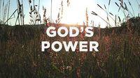 Boží moc