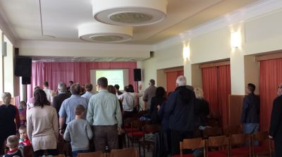 Milan Dupan - Ježiš krstí Sv.Duchom a ohňom